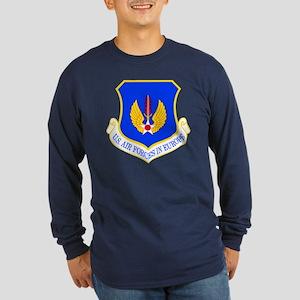 USAF Europe Long Sleeve Dark T-Shirt
