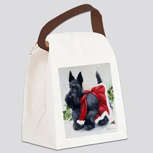 Christmas Canvas Lunch Bag
