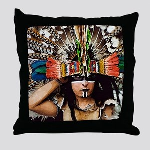 Aztec Youth Throw Pillow
