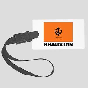Khalistan Luggage Tag
