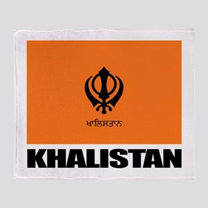 Khalistan Throw Blanket