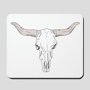 Longhorn Steer Mousepad