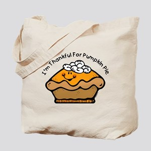 Thankful For Pie Tote Bag