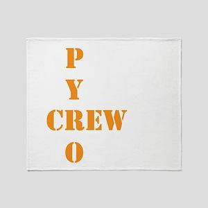 Pyro Crew Throw Blanket