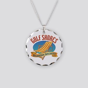 Gulf Shores - Necklace Circle Charm