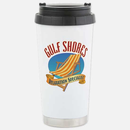 Gulf Shores - Stainless Steel Travel Mug