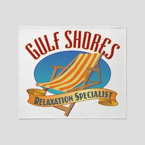 Gulf Shores - Throw Blanket