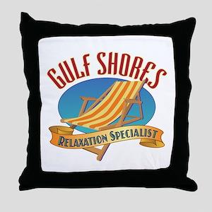 Gulf Shores - Throw Pillow