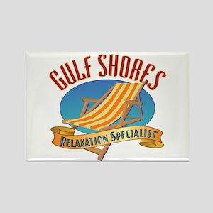 Gulf Shores - Rectangle Magnet