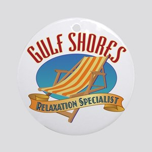 Gulf Shores - Ornament (Round)