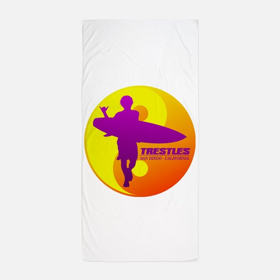 Trestles (Surfing) Beach Towel