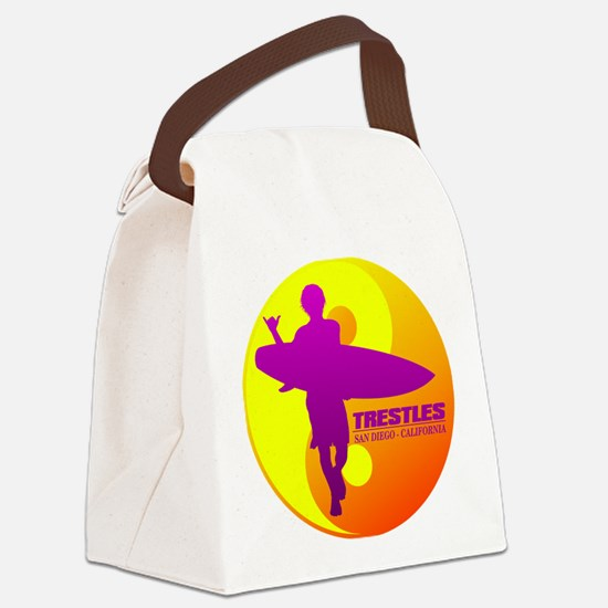 Trestles (Surfing) Canvas Lunch Bag
