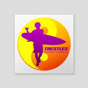 Trestles (Surfing) Sticker