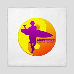 Mavericks - Half Moon Bay Queen Duvet