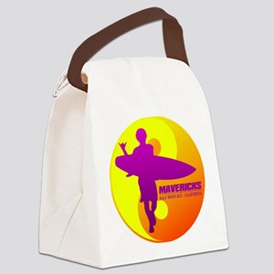 Mavericks - Half Moon Bay Canvas Lunch Bag
