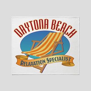 Daytona Beach - Throw Blanket