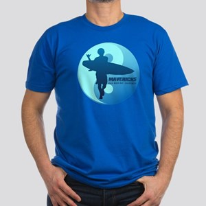 Mavericks-Half Moon Bay (blue) T-Shirt