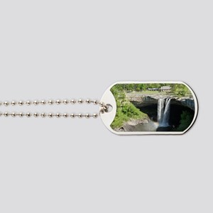 Noccalula Falls Gadsden Alabama Waterfall Dog Tags