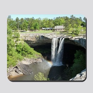 Noccalula Falls Gadsden Alabama Waterfal Mousepad