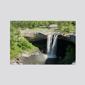 Noccalula Falls Gadsden Alabama W Rectangle Magnet