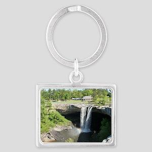 Noccalula Falls Gadsden Alabama Landscape Keychain