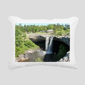 Noccalula Falls Gadsden  Rectangular Canvas Pillow