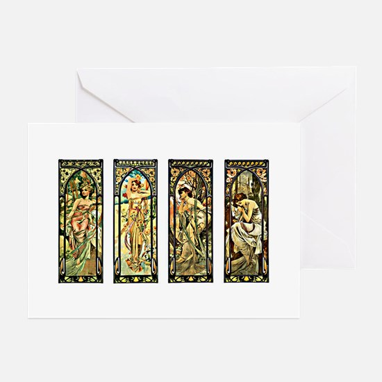 Times of the Day - Greeting Cards (Pk of 10)