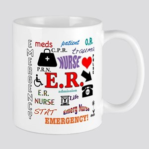 E.R. Nurse Mugs