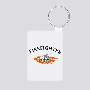 Firefighter Bull Dog Tough Keychains