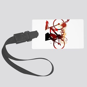 Cycling Large Luggage Tag