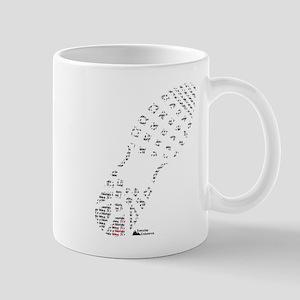 Footprint Mug
