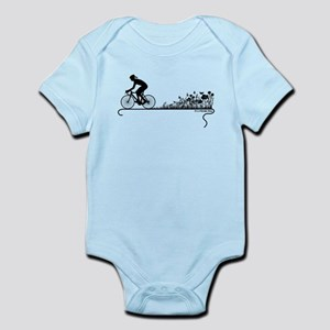 Nature Ride Cycling Infant Bodysuit