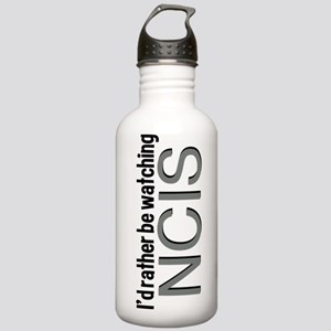 Rather Watch NCIS Stainless Water Bottle 1.0L