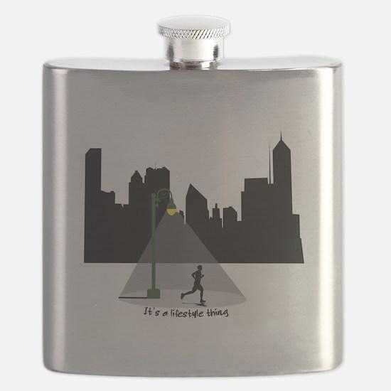 Others Sleep Men's Running Flask