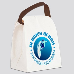 Black's Beach Canvas Lunch Bag