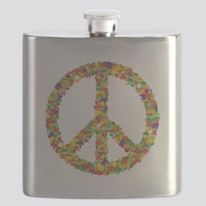 Fruit and Vegetable Peace Sign Flask