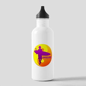 Pipeline-Oahu Water Bottle