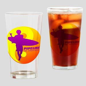 Pipeline-Oahu Drinking Glass