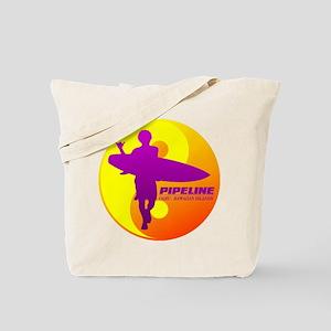 Pipeline-Oahu Tote Bag
