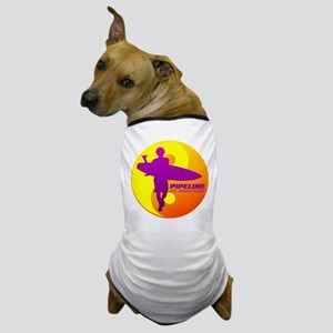 Pipeline-Oahu Dog T-Shirt