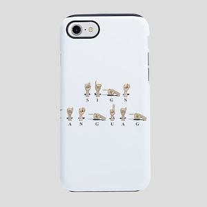 SignLanguageAmeslan062511 iPhone 7 Tough Case