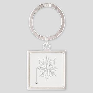 Spider Web Keychains