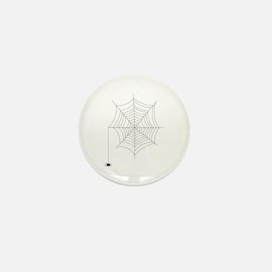 Spider Web Mini Button