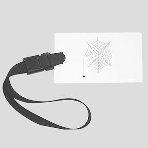 Spider Web Luggage Tag