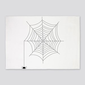 Spider Web 5'x7'Area Rug