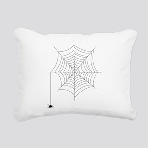 Spider Web Rectangular Canvas Pillow