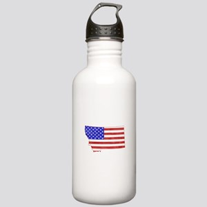 Montana Flag Stainless Water Bottle 1.0L