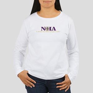 NOLA Mardi Gras Women's Long Sleeve T-Shirt