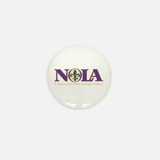 NOLA Mardi Gras Mini Button