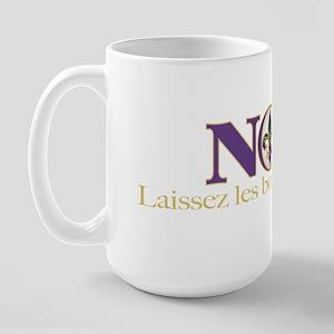 NOLA Mardi Gras Large Mug